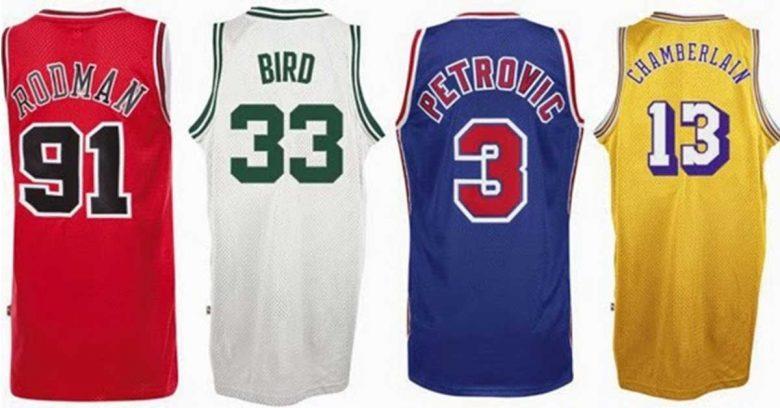 NBAレジェンドの背番号
